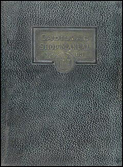 1924-1925 Cadillac Repair Manual Original