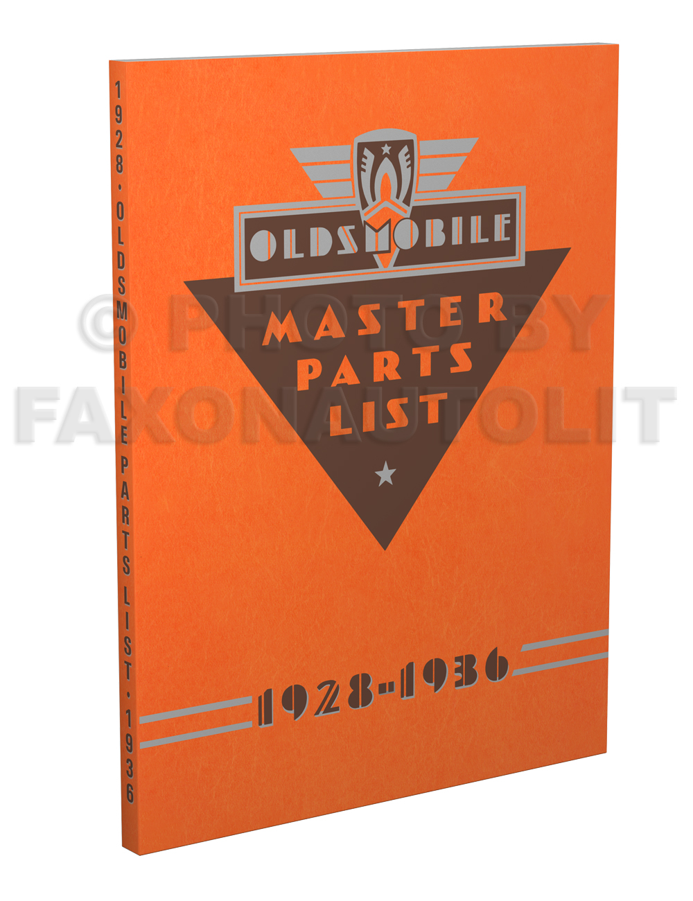 1928-1936 Oldsmobile Master Parts Book Reprint