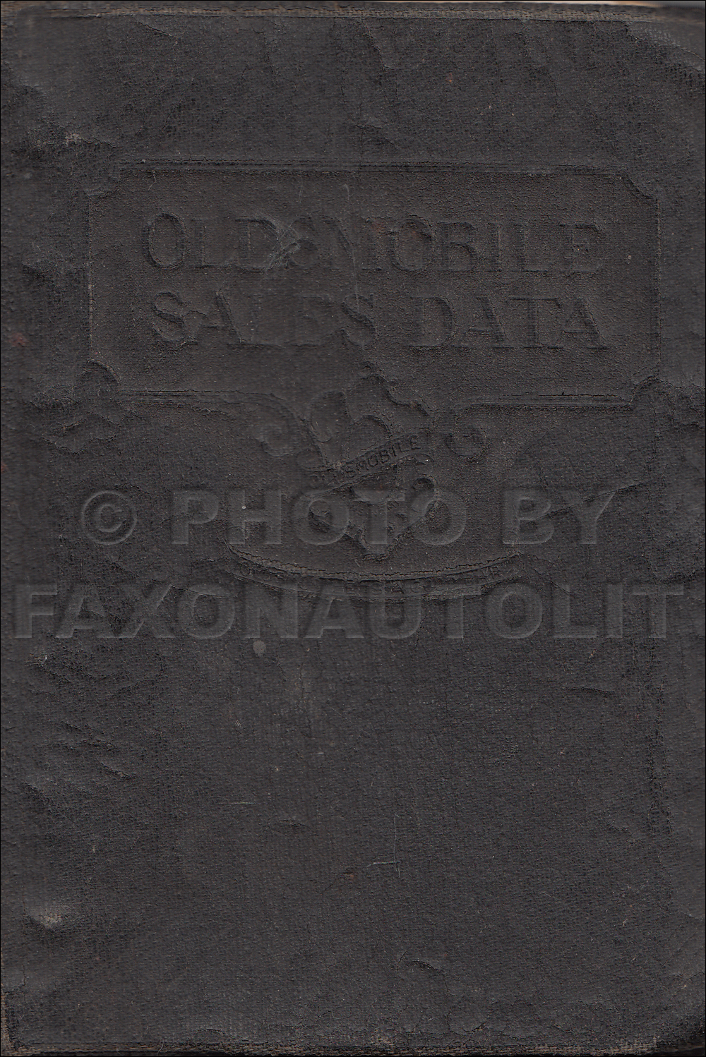 1928 Oldsmobile Data Book Original