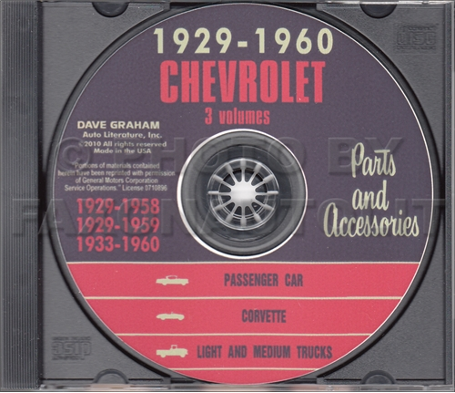 1958-1959-1960 Chevrolet CD Shop Manual