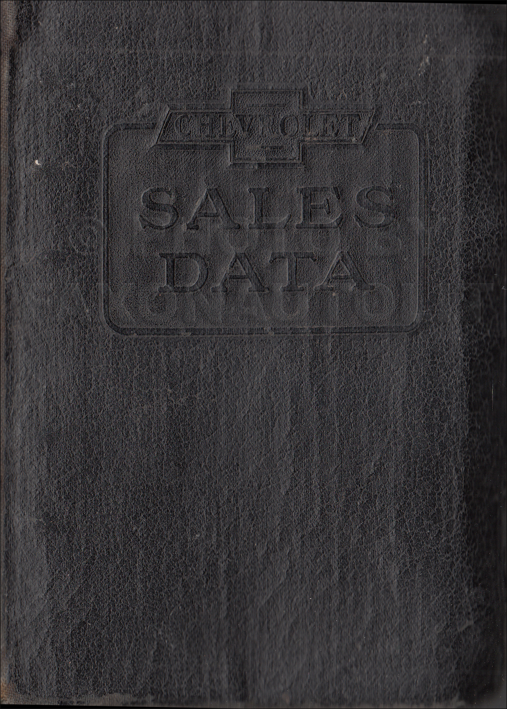 1929 Chevrolet Car & Truck Data Book Original
