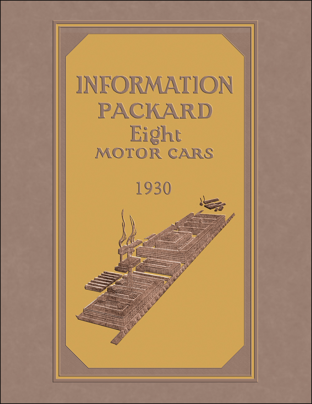 1930 Packard 8 Owner Manual Reprint 7-26 7-33 7-40 7-45