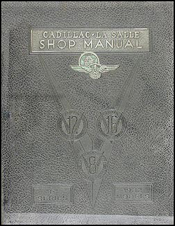 1932 LaSalle and Cadillac Shop Manual Original