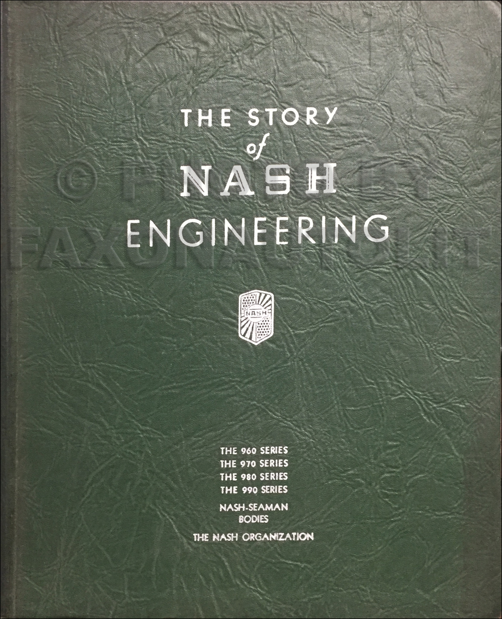 1932 Nash Engineering Dealer Album Original