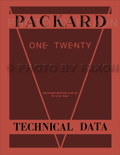 1935-1936 Packard 120 Repair Shop Manual Reprint with Body One-Twenty