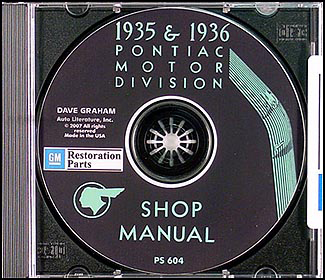 1935-1936 Pontiac CD-ROM Shop Manual