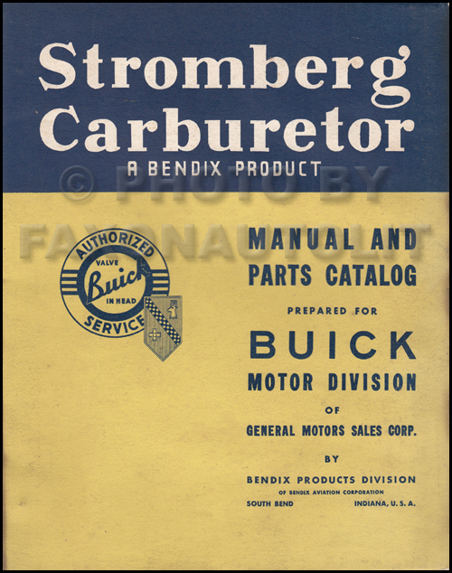1939-1940 Buick Body Repair Manual Original