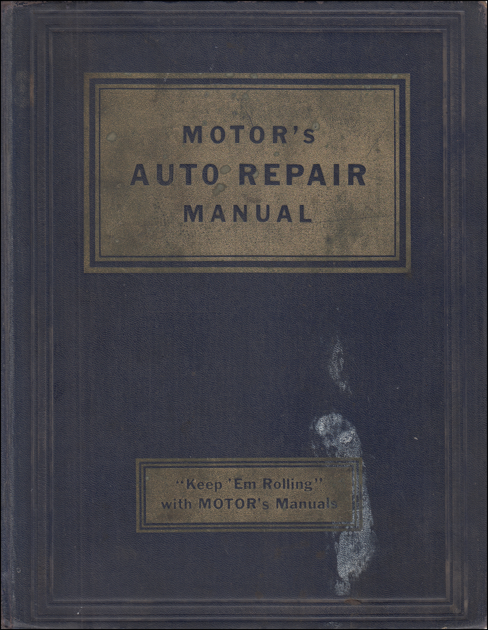 1935-1951 Motors 14th Edition Shop Manual