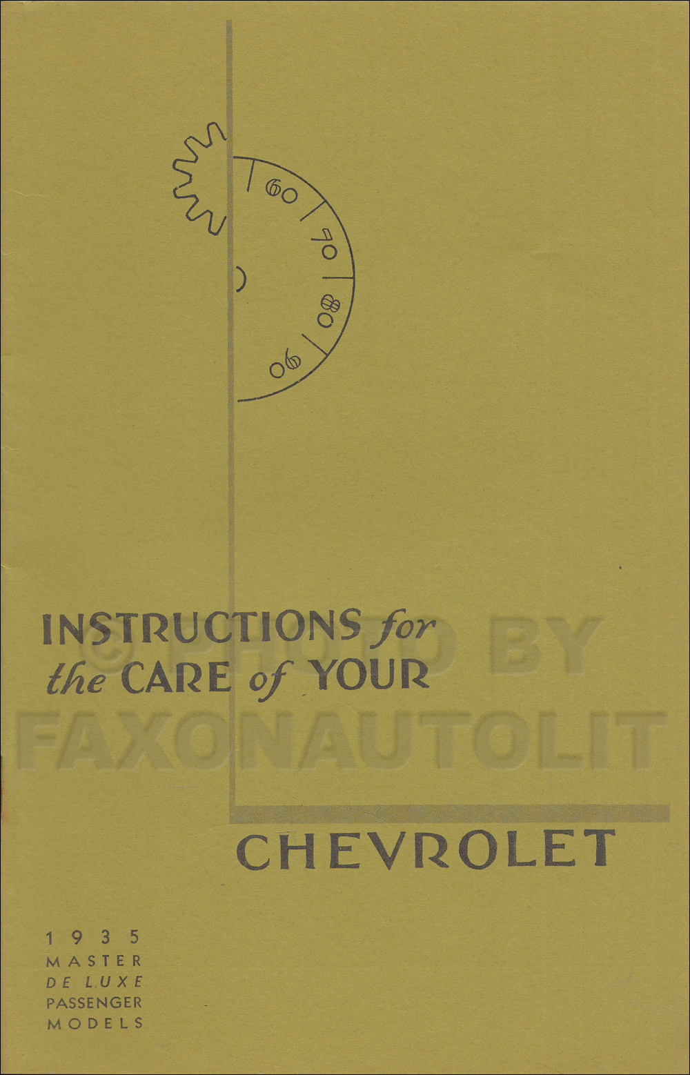 1935 Chevrolet Wiring Diagram Repair Shop Manual Original Master Car Owners Reprint Older Edition