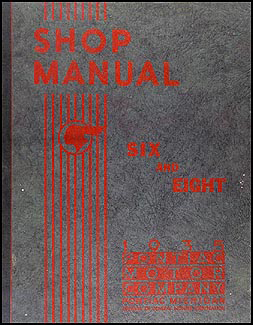 1935 Pontiac Six and Eight Shop Manual Original