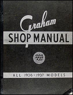1935-1937 Graham Repair Manual Original