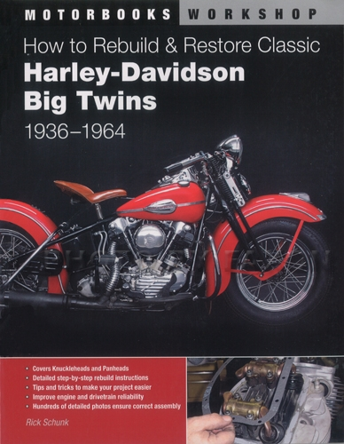 1936-1964 How to Rebuild & Restore Classic Harley-Davidson Big Twins Knucklehead Panhead