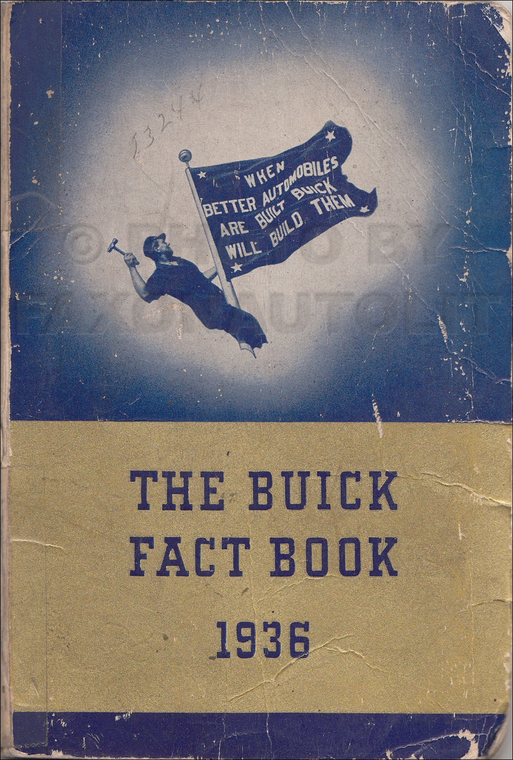 1936 Buick Facts Book Original