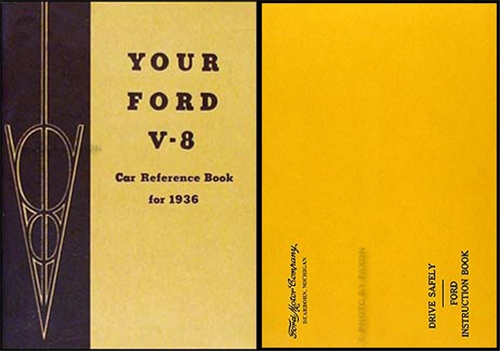 1936 Ford Car & Pickup Owner's Manual Reprint