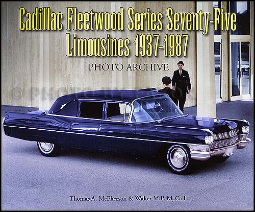 1937-1987 Cadillac Fleetwood 75 Limousine Photo Archive