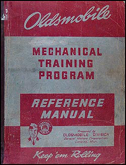 1938-1942 Oldsmobile Mechanical Training Progrm Reference Manual Orig.