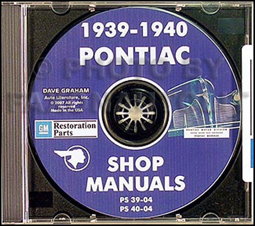 1939-1940 Pontiac CD Shop Manual
