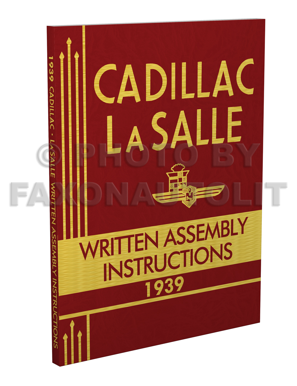 1939 Cadillac and LaSalle Written Assembly Manual Reprint