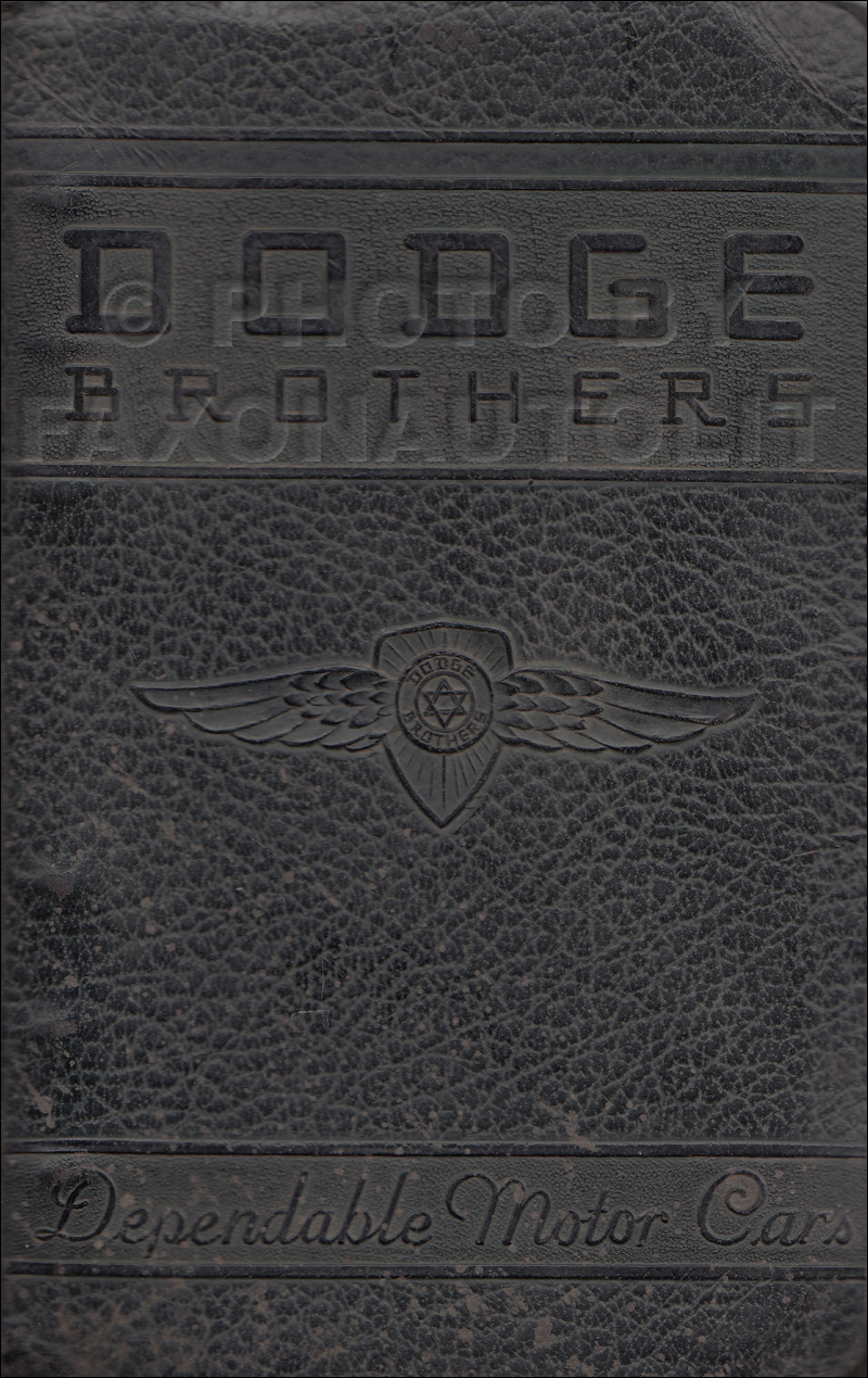 1939 Dodge Car Data Book Original $249.00