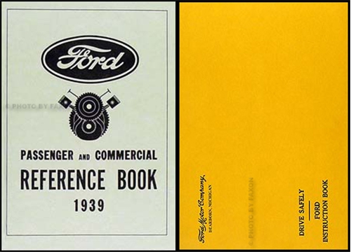 1939 Ford Car and Pickup Owners Manual Reprint