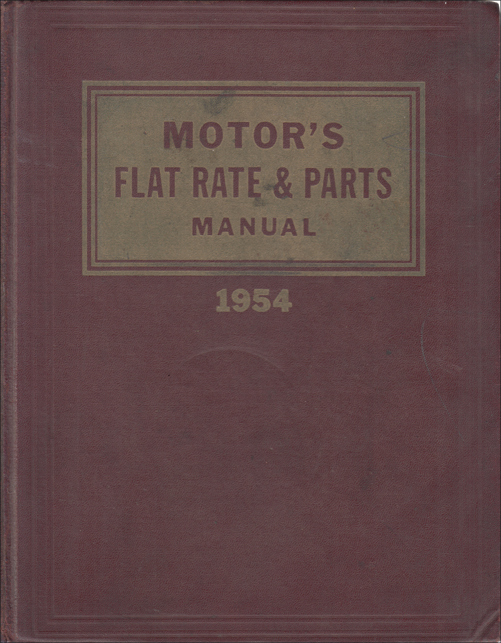 1940-1954 26th Edition Motors Labor Guide