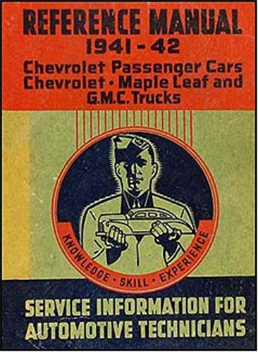 1941-1942 Chevrolet, GMC, & Maple Leaf CANADIAN Shop Manual Original