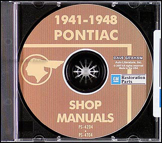 1941-1948 Pontiac CD-ROM Shop Manuals All Models