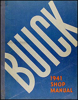 1941 Buick Repair Manual Original
