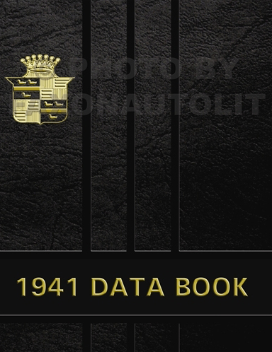 1941 Cadillac Data Book Reprint