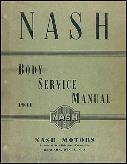 1941 Nash Body Manual Original