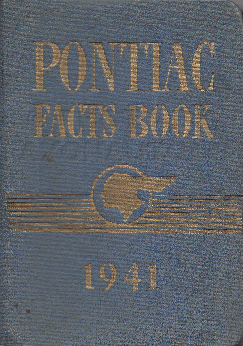 1941 Pontiac Facts Book Original