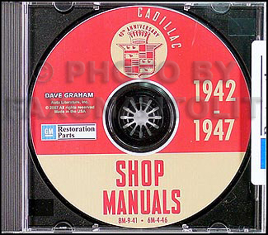 1942-1946-1947 Cadillac CD Shop Manuals