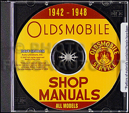 1942-1948 Oldsmobile CD Shop Manual