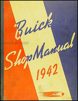 1942 Buick Shop Manual Original