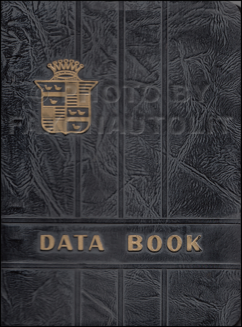 1942 Cadillac Data Book Original
