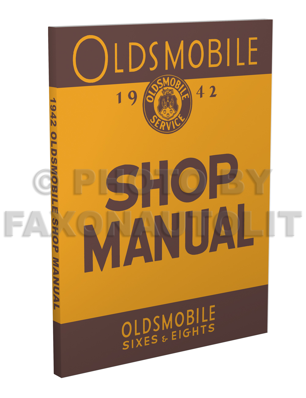 1942 Oldsmobile Repair Manual Original 8 1/2 x 11""