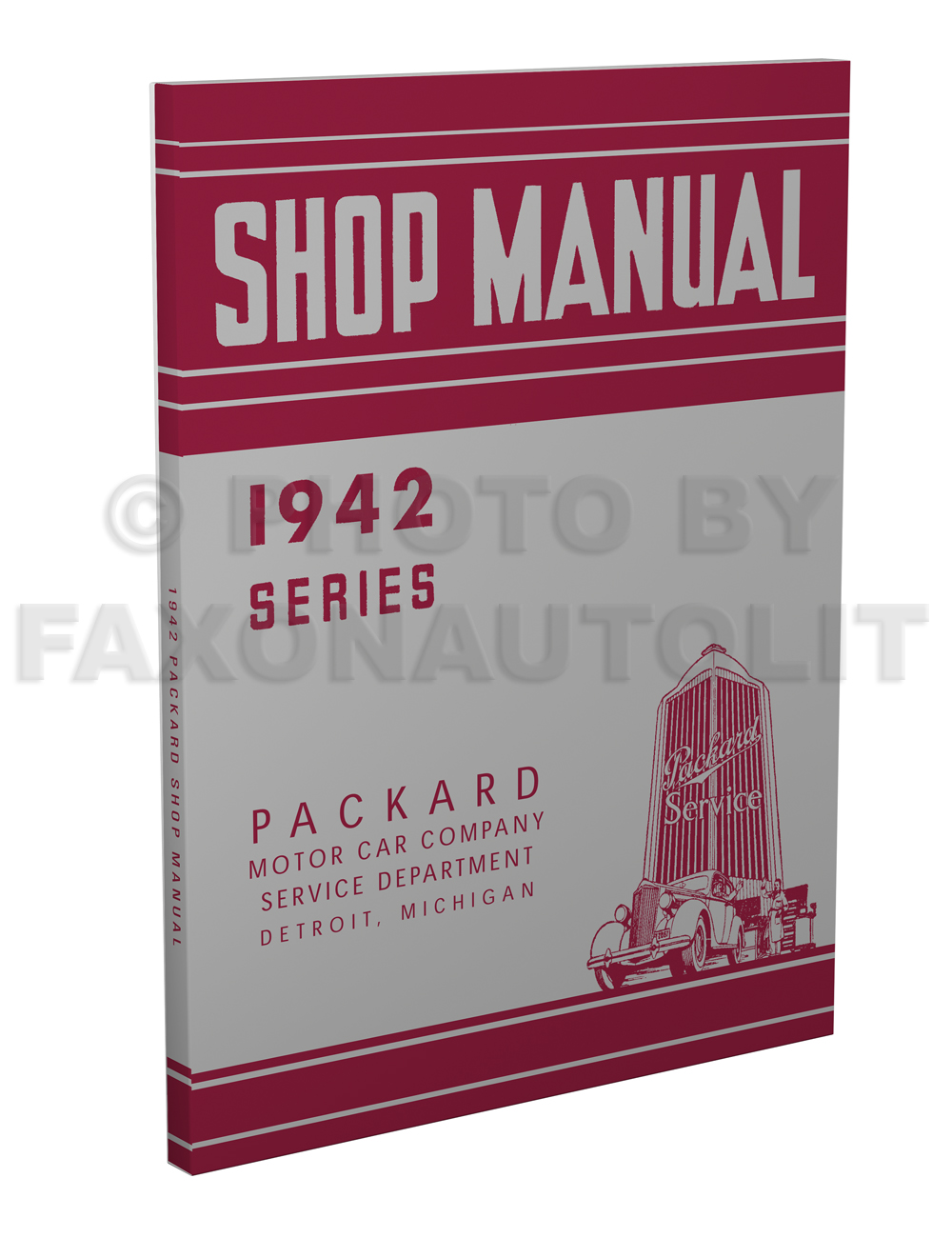 1942 Packard Shop Manual Reprint 42 Clipper/6/8/Super 8/160/180