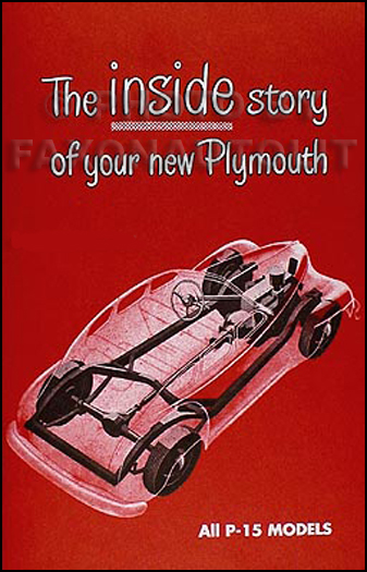 1946-1947-1948 Plymouth Owner's Manual Reprint