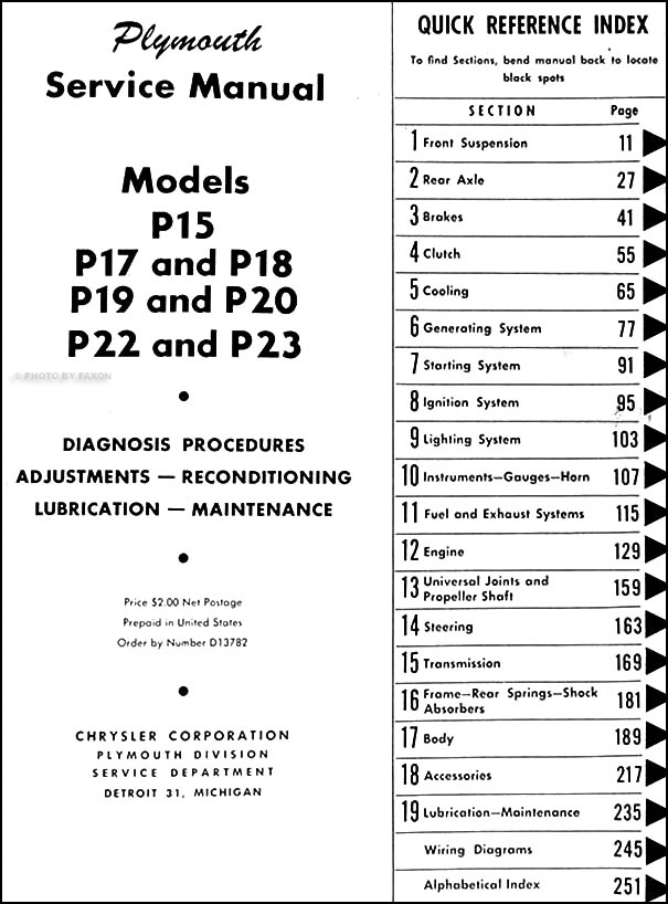 1951 plymouth wiring diagram easy wiring diagrams u2022 rh art isere com  1951 plymouth cranbrook wiring diagram