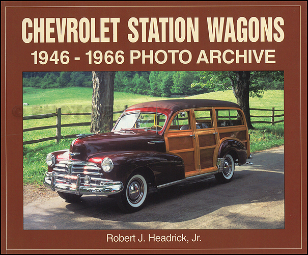 1946-1966 Chevrolet Station Wagon Photo Archive