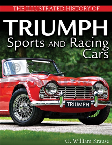 1946-1981 Triumph Sports and Racing Cars Illustrated History Book