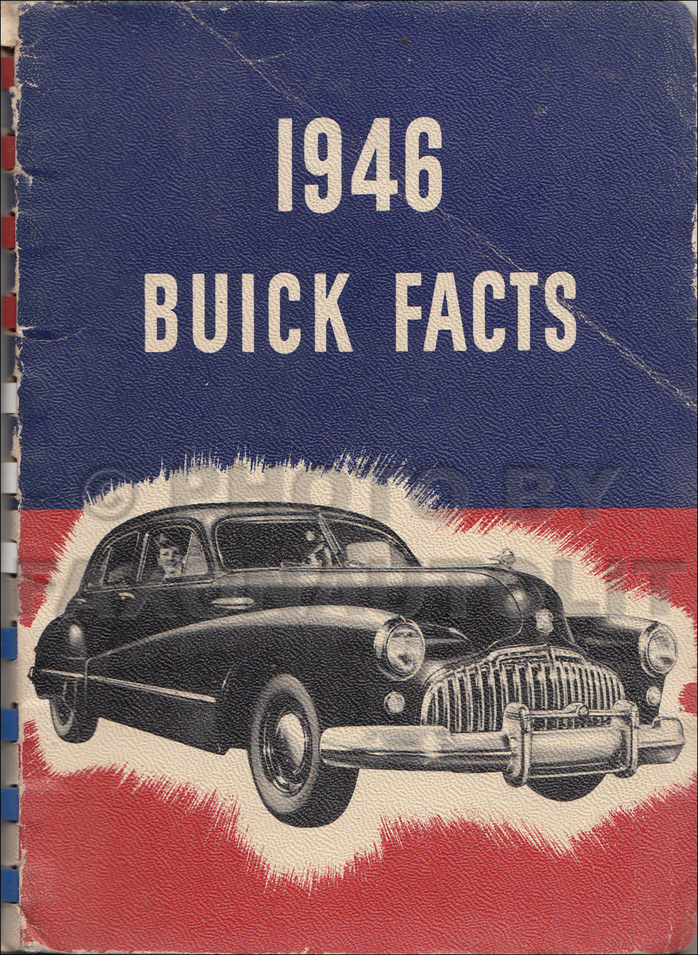 1946 Buick Facts Book Original