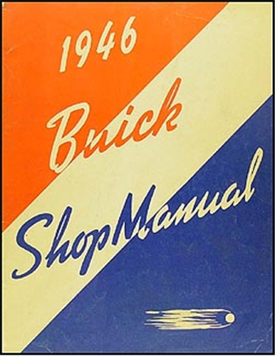 1946-1947 Buick Repair Manual Supplement Original