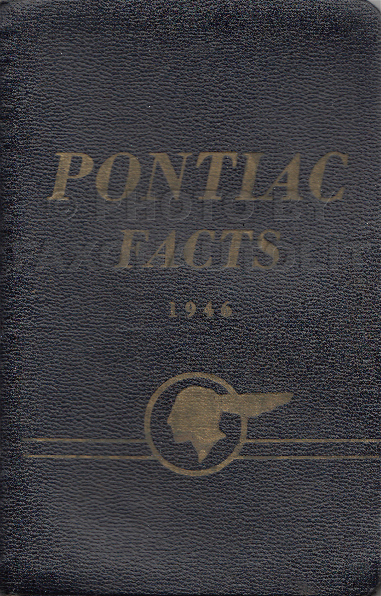 1946 Pontiac Facts Book Dealer Album Original
