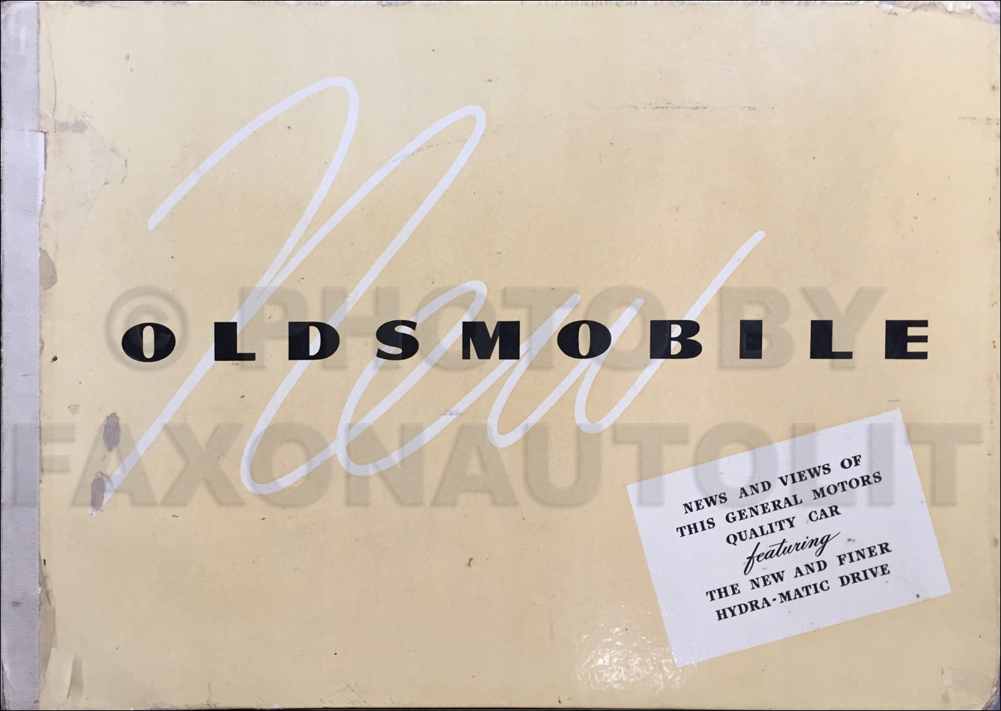 1946-1947 Oldsmobile Dealer Album Original