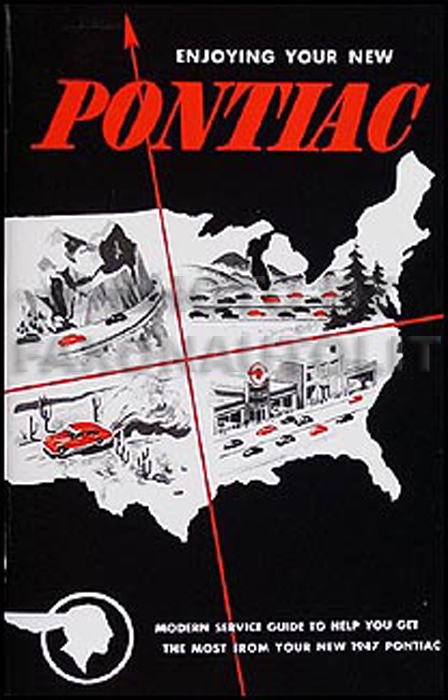 1947 Pontiac Owner's Manual Reprint
