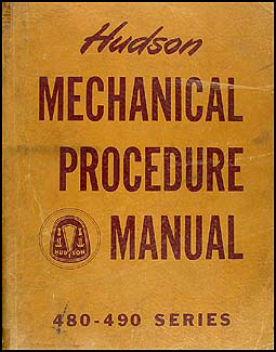 1948-1949 Hudson Shop Manual Original