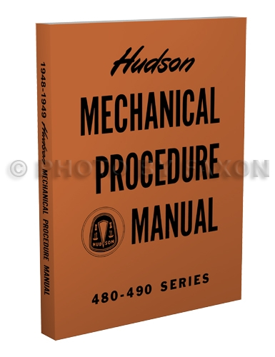 1948-1949 Hudson Shop Manual Reprint