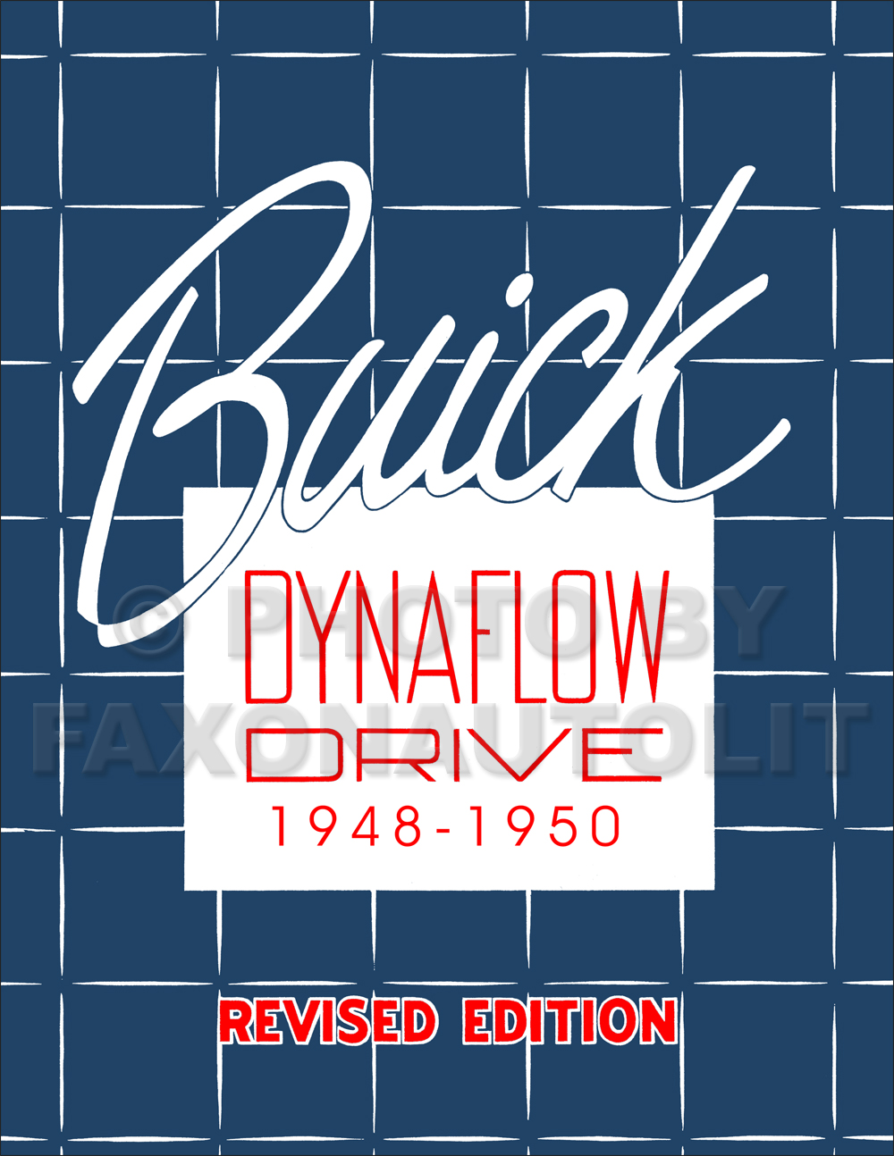 1948-1950 Buick Dynaflow Transmission Manual Reprint