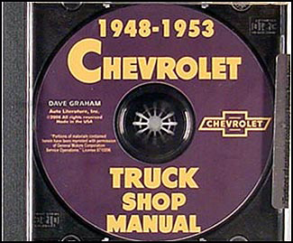 1948-1953 Chevy Pickup and Truck CD-ROM Shop Manual